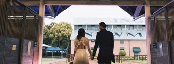 Real Wedding: Steph & Ben's Eclectic Chic Wedding