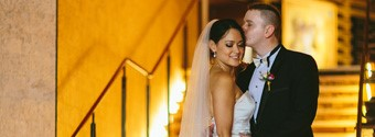 Real Wedding: Julia & Michael's Gold Glamour Wedding