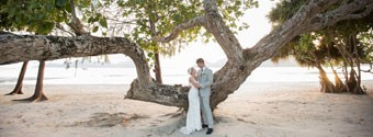 Real Wedding: Alicia & Jase's Tropical Island Wedding
