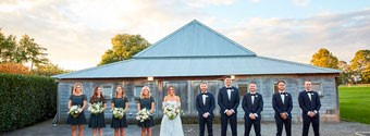 Real Wedding: Meredith & David's Autumnal Chic Yarra Valley Wedding
