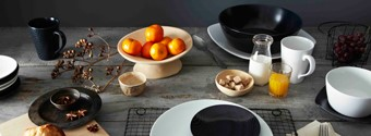 Noritake's New Black & White Tableware Collection