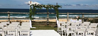 Top Cat Catering at Horizons Beachfront Wedding Venue
