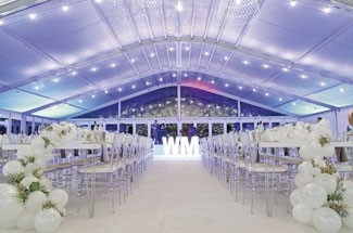 White Marquee | Event Hire