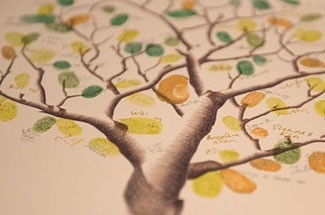 The Fingerprint Tree | Guest Books