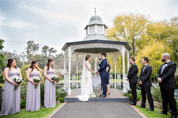 Ballara Receptions | Wedding Venue | Garden Wedding Ceremony