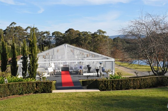 Pillingers Hiring Service | Event Hire | Clear Roof Marquee