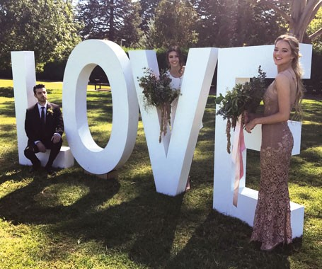 Love Letters CBR | Event Hire | Love