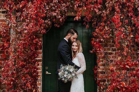 The Evoke Company | Wedding Photography | Bride And Groom | Autumn