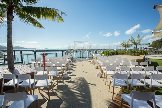 Lure, Abell Point Marina | Outdoor Ceremony