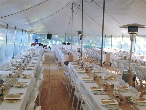 Blue Mountains Special Event Hire | Wedding Hire | Wedding Reception Table