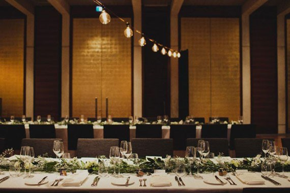 National Gallery of Australia | Wedding Venue | Wedding Reception Tables