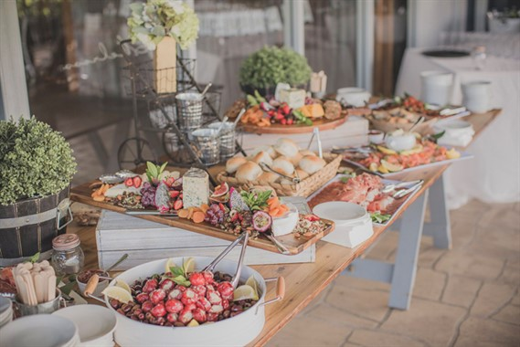 PB Catering | Wedding Catering | Wedding Reception Grazing Table