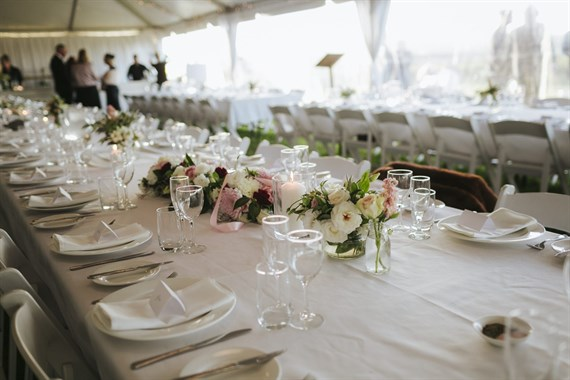 Bunnamagoo Wines | Wedding Venue | Marquee Wedding Reception