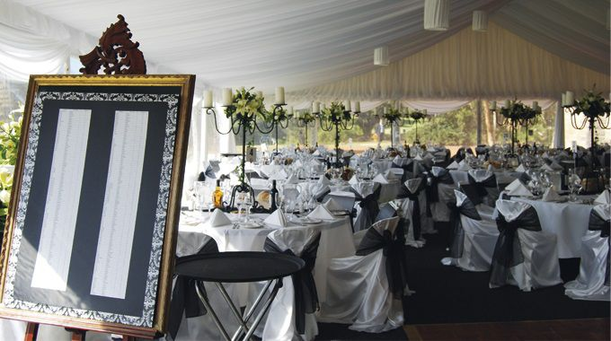 Pillingers Hiring Service | Event Hire | Wedding Reception