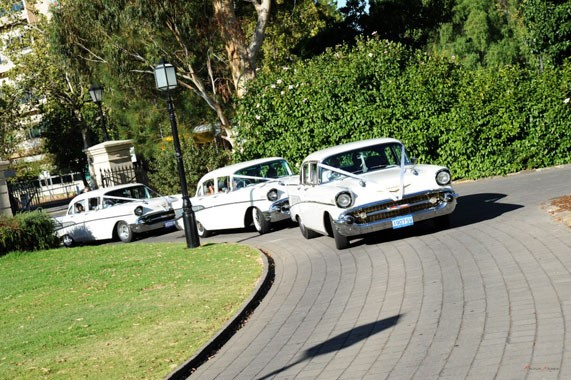 All American 57 Chevy Services | Wedding Transport | Adelaide Transport