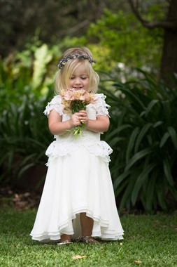 Amber Huett Couture | Bridal Fashion | Flower Girl Dress