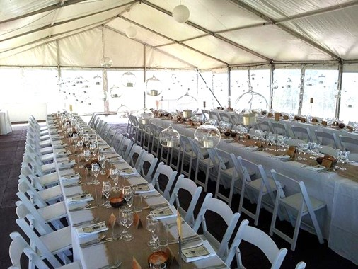 Blue Mountains Special Event Hire | Wedding Hire | Wedding Reception Chairs