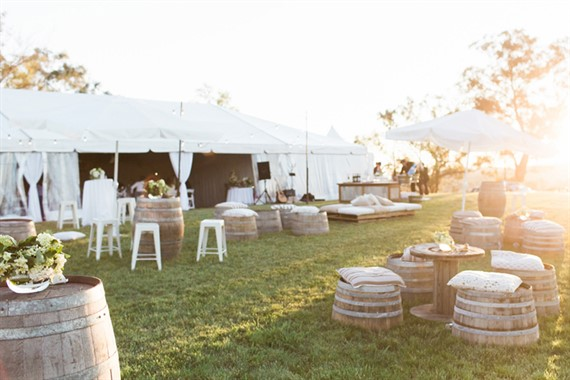 Domayn Events | Event Hire | Mudgee Wedding