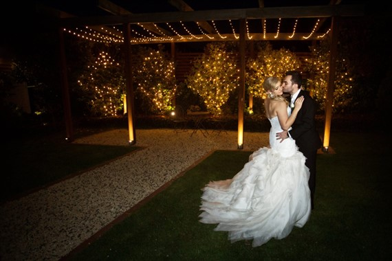 Ballara Receptions | Wedding Venue | Garden At Night