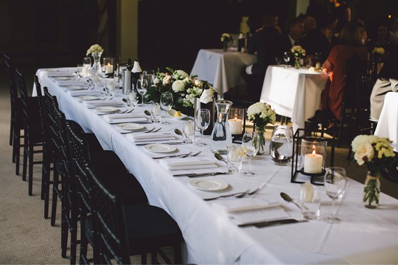 Silvestri's Of Clarendon | Wedding Venue | Wedding Reception Tables