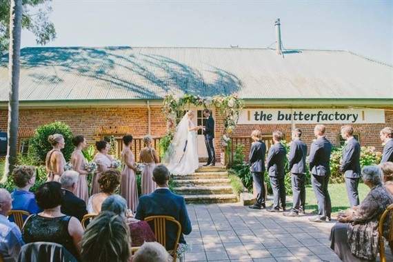 The Butterfactory | Wedding Venue | Country Wedding Ceremony