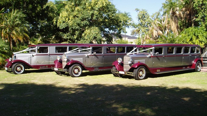 Thirties Limousines | Wedding Transport | Vintage Limousines
