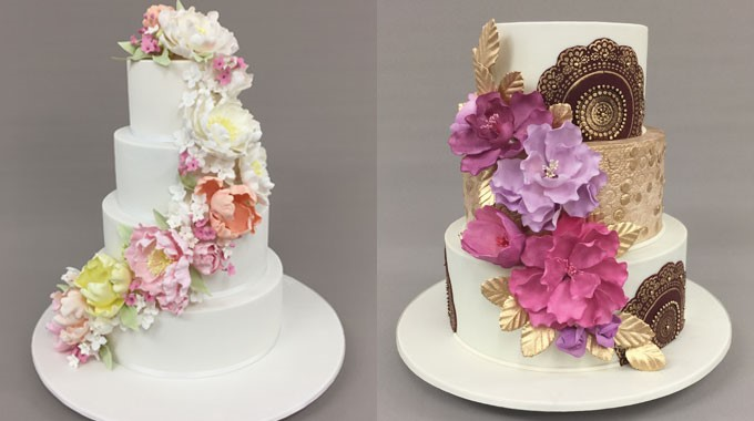 Sweet Art | Wedding Cakes | Floral Wedding Cakes