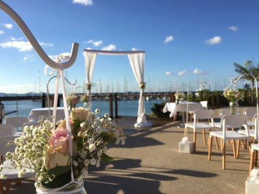 Lure, Abell Point Marina | Ceremony Setting