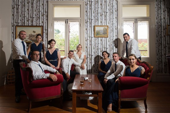 Upstairs at Freds | Wedding Venue | Bridal Party