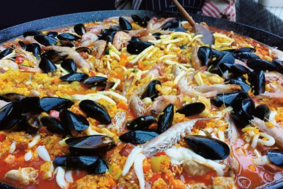 Food By Wayne | Catering | Seafood Paella