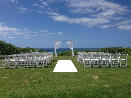 Southern Style Events | Event Hire | Outdoor Wedding Ceremony