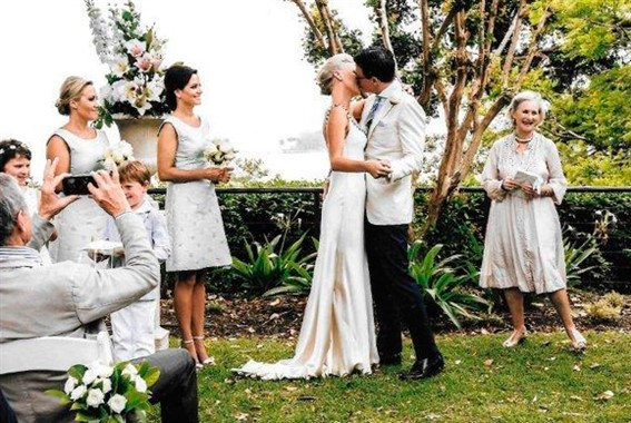 Gail Booth | Celebrant | First Kiss