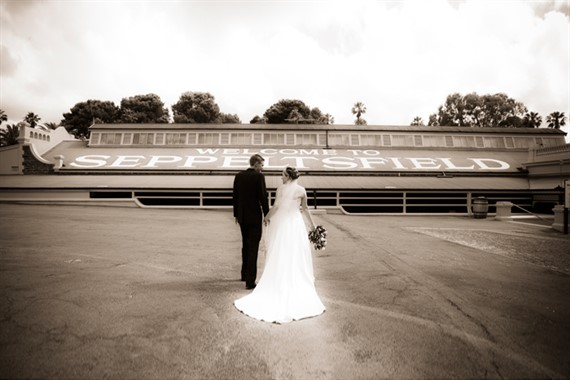 Seppeltsfield Winery | Wedding Venue | Bride & Groom