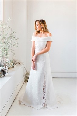 Emerald Bridal | Bridal Fashion | Off-the-shoulder Wedding Dress