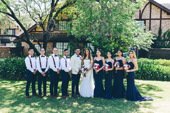 The Hills Lodge Hotel | Wedding Venue | Bridal Party