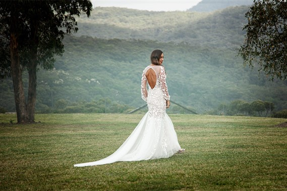 Corston Couture | Bridal Fashion | Long Sleeve Wedding Dress