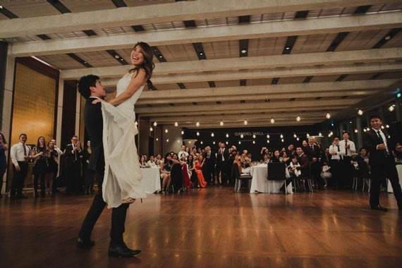 National Gallery of Australia | Wedding Venue | First Dance