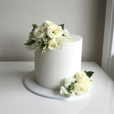 Ivy & Stone Cake Design | Wedding Cakes | Single Tier Cake