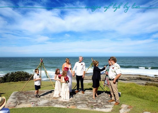 Angourie Rainforest Resort | Wedding Venue | Beach Ceremony
