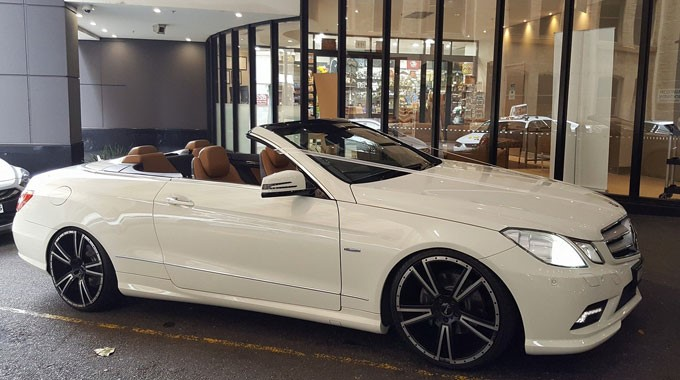 I Do Wedding Cars | Wedding Transport | Mercedes Convertible  Sydney