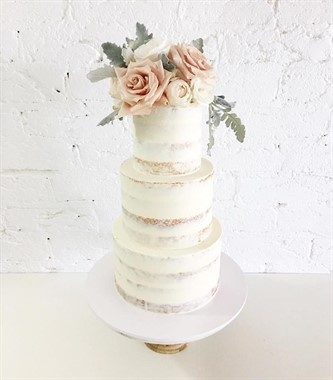 Ivy & Stone Cake Design | Wedding Cakes | Semi Naked Cake