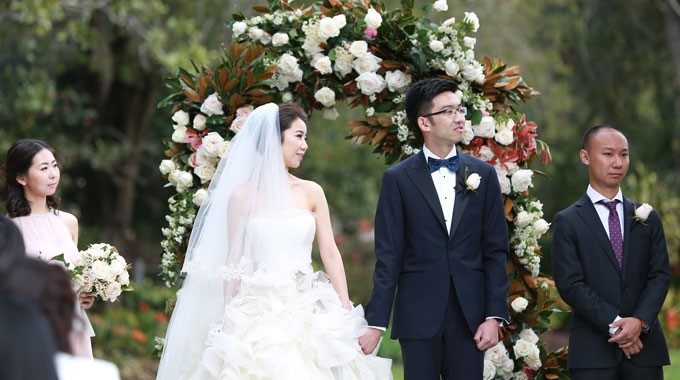 Sweet Art | Florist | Wedding Ceremony Floral Arch