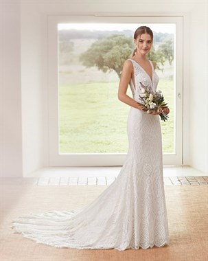 Annabel's Bridal Studio | Bridal Fashion | Willowby Modern Gown Back