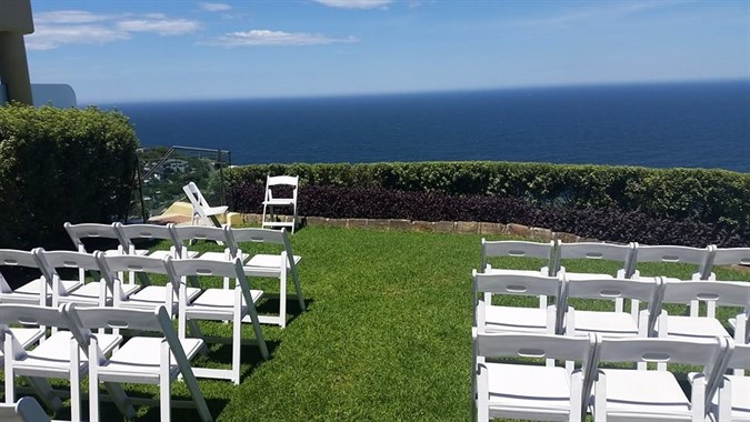 Campbelltown Chair and Party Hire | Event Hire | Waterfront Ceremony