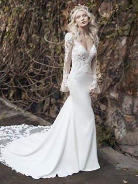 Affordable Bridal | Bridal Fashion | Low Back Lace Dress
