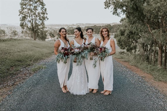 The Evoke Company | Wedding Photography | Bride And Bridesmaids