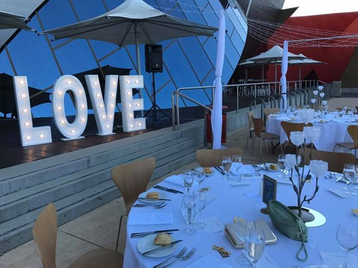 Love Letters CBR | Event Hire | Light Letters