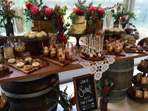 Your Event Solution | Event Hire | Dessert Table
