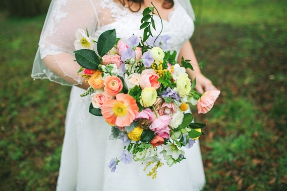 Affair With George | Florist | Colourful Bouquet