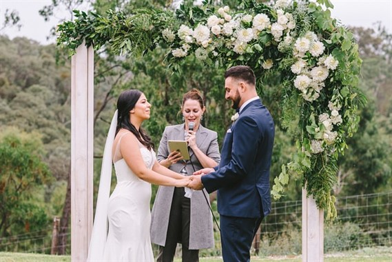 Lillypad Flowers | Florist | Wedding Ceremony Arch